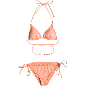 Roxy SD Beach Classics Tank Tie Side Scooter Shape Bikini Damer orange